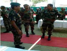 Lt Gen Arun Kumar Sahni visits Maibang