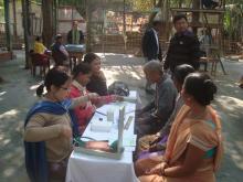 Health Camp at Pamohi