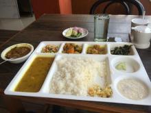 Mother's Kitchen, Paltan Bazar serves veg platter