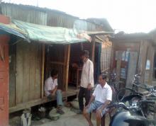 Illegal wine shops at Simaluguri Railway Station