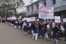 Swami Vivekananda rally at Haflong