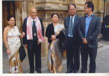 CM of Assam: Tarun Gogoi visit to Nehru Centre & Lord Swraj Paul on 26th June, 2013, London